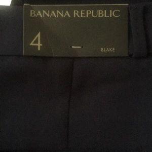 Banana Republic Blake dress pant 4R NWT